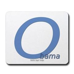 Obama O Lean Mousepad