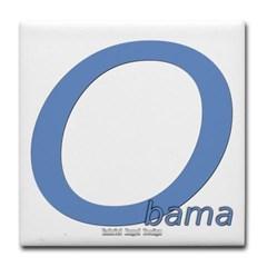 Obama O Lean Tile Coaster