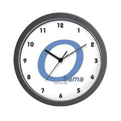 Obama O Lean Wall Clock