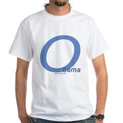 Obama O Lean White T-Shirt