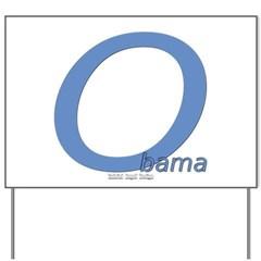 Obama O Lean Yard Sign