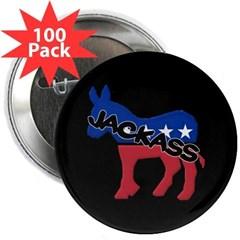 "Democratic Jackass 2.25"" Button (100 pack)"