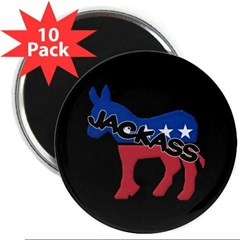 "Democratic Jackass 2.25"" Magnet (10 pack)"