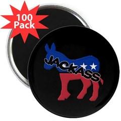 "Democratic Jackass 2.25"" Magnet (100 pack)"