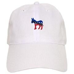 Democratic Party Jackass Symbol Baseball Cap