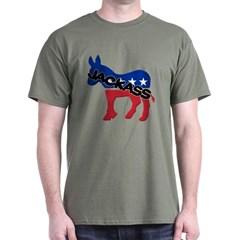 Democratic Party Jackass Symbol Dark T-shirt