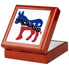 Democratic Party Jackass Symbol Keepsake Box