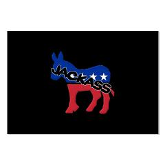 Democratic Party Jackass Symbol Large Poster