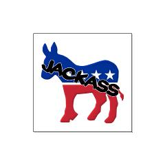 Democratic Party Jackass Symbol Large Posters