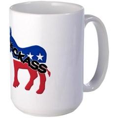 Democratic Party Jackass Symbol Mug