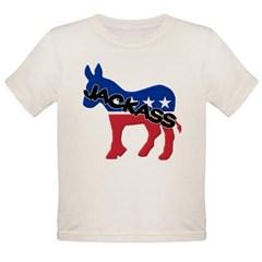 Democratic Party Jackass Symbol Organic Toddler T-Shirt