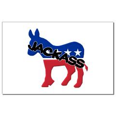 Democratic Party Jackass Symbol Small Posters