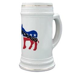 Democratic Party Jackass Symbol Stein