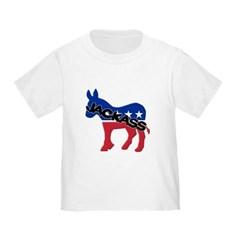 Democratic Party Jackass Symbol Toddler T-Shirt
