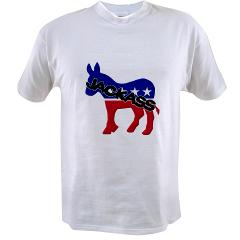 Democratic Party Jackass Symbol Value T-shirt