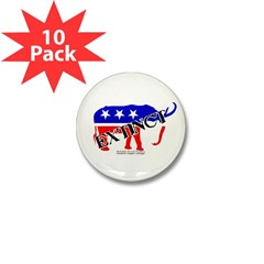 Extinct Republican Mini Button (10 pack)