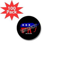 Extinct Republican Mini Button (100 pack)