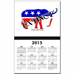Extinct Republican Party Symbol Calendar Print