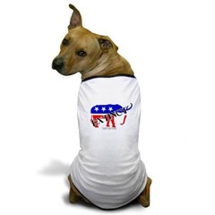 Extinct Republican Party Symbol Dog T-Shirt