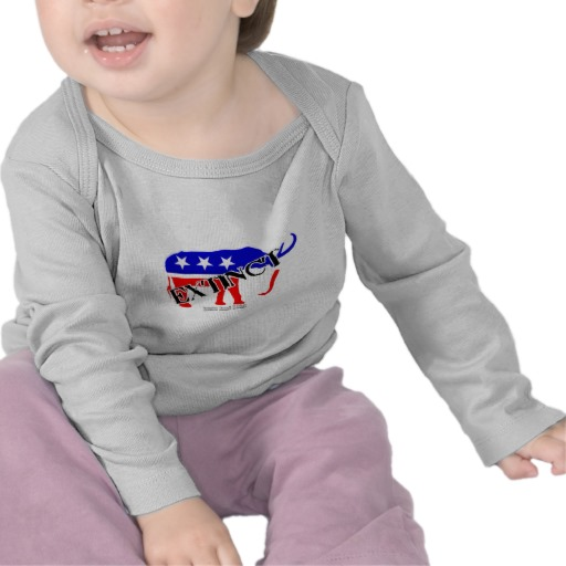 Extinct Republican Party Symbol Infant Bella Long Sleeve T-Shirt