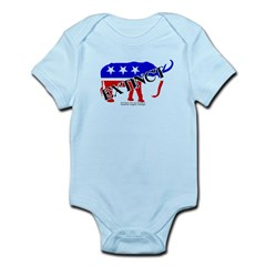 Extinct Republican Party Symbol Infant Bodysuit