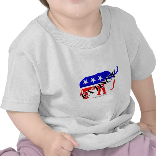 Extinct Republican Party Symbol Infant T-Shirt