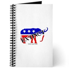 Extinct Republican Party Symbol Journal