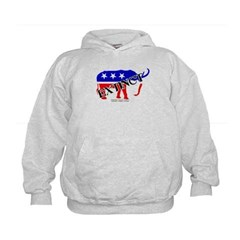 Extinct Republican Party Symbol Kids Sweatshirt by Hanes