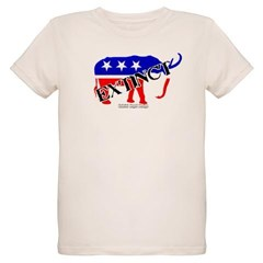 Extinct Republican Party Symbol Organic Kids T-Shirt