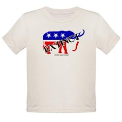 Extinct Republican Party Symbol Organic Toddler T-Shirt