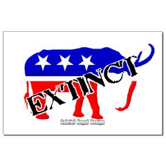 Extinct Republican Party Symbol Posters