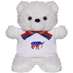 Extinct Republican Party Symbol Teddy Bear