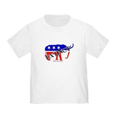 Extinct Republican Party Symbol Toddler T-Shirt