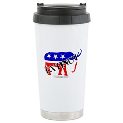 Extinct Republican Party Symbol Travel Mug