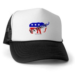 Extinct Republican Party Symbol Trucker Hat