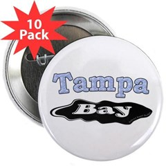 "Tampa Bay Oil Spill 2.25"" Button (10 pack)"