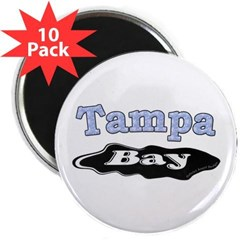 "Tampa Bay Oil Spill 2.25"" Magnet (10 pack)"