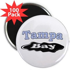 "Tampa Bay Oil Spill 2.25"" Magnet (100 pack)"