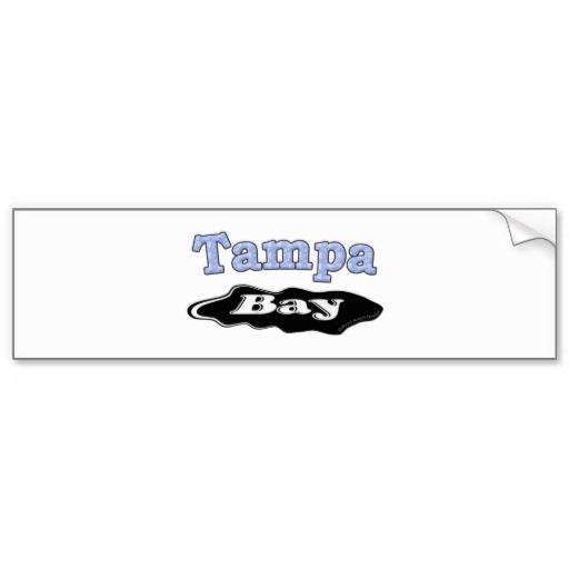 Tampa Bay Oil Spill Bumper Sticker