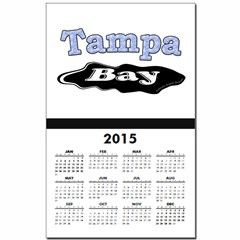 Tampa Bay Oil Spill Calendar Print