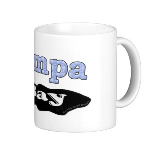 Tampa Bay Oil Spill Classic White Mug