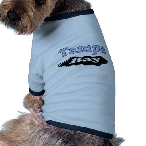 Tampa Bay Oil Spill Doggie Ringer T-Shirt
