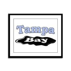 Tampa Bay Oil Spill Framed Panel Print