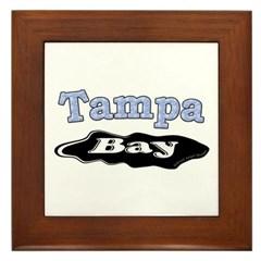 Tampa Bay Oil Spill Framed Tile