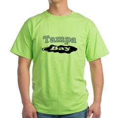 Tampa Bay Oil Spill Green T-Shirt