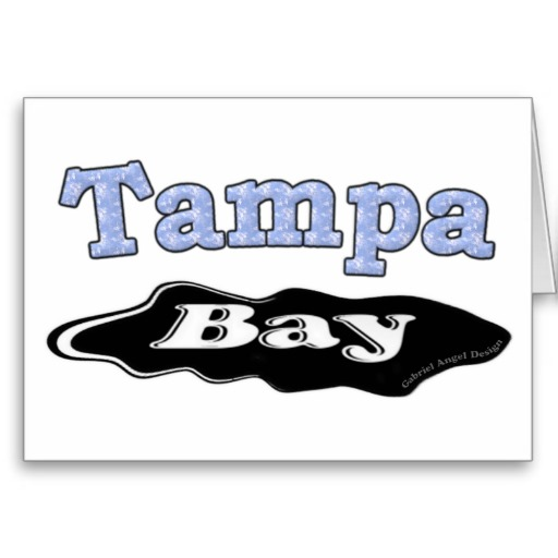Tampa Bay Oil Spill Greeting Card