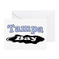 Tampa Bay Oil Spill Greeting Cards (Pk of 10)