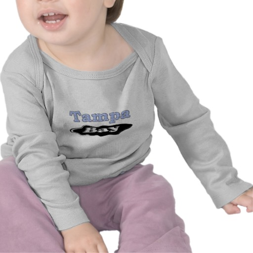 Tampa Bay Oil Spill Infant Bella Long Sleeve T-Shirt