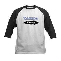 Tampa Bay Oil Spill Kids Baseball Jersey T-Shirt