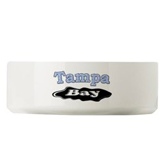 Tampa Bay Oil Spill Large Pet Bowl